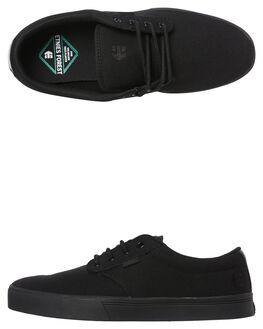 BLACK BLACK MENS FOOTWEAR ETNIES SKATE SHOES - 4101000323-003