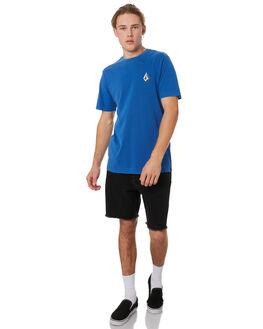 MARINA BLUE MENS CLOTHING VOLCOM TEES - A4331970MRB