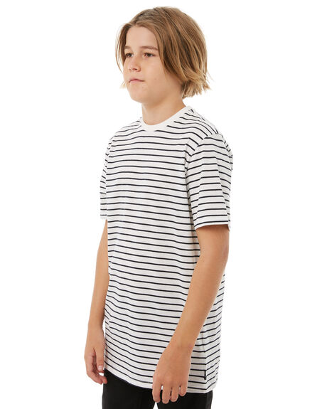 OFF WHITE KIDS BOYS SWELL TOPS - S3183003OFFWH
