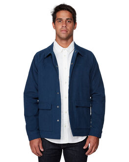 NAVY MENS CLOTHING RVCA JACKETS - RV-R107437-N10