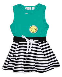 EMERALD KIDS TODDLER GIRLS KISSED BY RADICOOL DRESSES - KR0809EMRLD