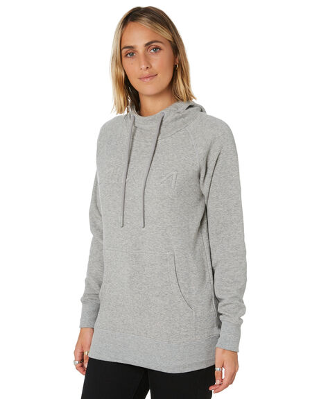ATHLETC HEATHER GREY WOMENS CLOTHING NIKITA JUMPERS - NKWFRYC-AGHAGH