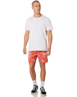 RED MENS CLOTHING RIP CURL BOARDSHORTS - CBOUU10040