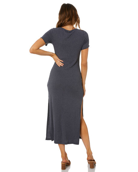GRAVITY GREY WOMENS CLOTHING RUSTY DRESSES - DRL1081GVTGY