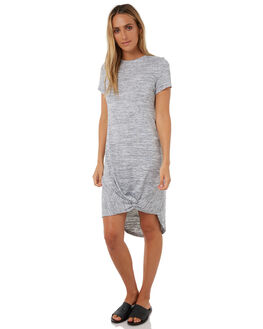 GREY MARLE WOMENS CLOTHING SILENT THEORY DRESSES - 6008016GREYM
