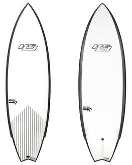 WHITE BLACK BOARDSPORTS SURF HAYDENSHAPES SURFBOARDS - HSUNTITLEDFFWHTBK