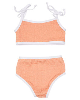 CORAL KIDS TODDLER GIRLS ZULU AND ZEPHYR SWIMWEAR - ZM1620COR