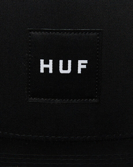 BLACK MENS ACCESSORIES HUF HEADWEAR - HT00343-BLACK