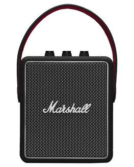 BLACK MENS ACCESSORIES MARSHALL AUDIO + CAMERAS - 245257BLK