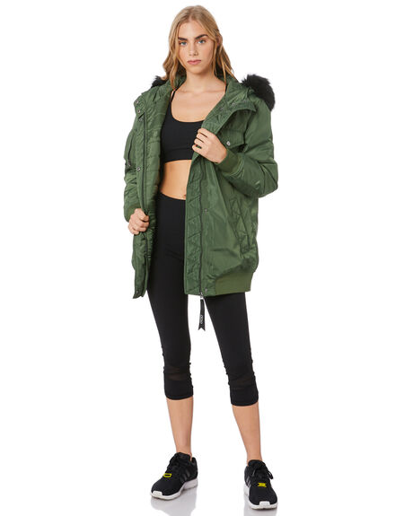 ARMY GREEN WOMENS CLOTHING LORNA JANE ACTIVEWEAR - 051834ARM
