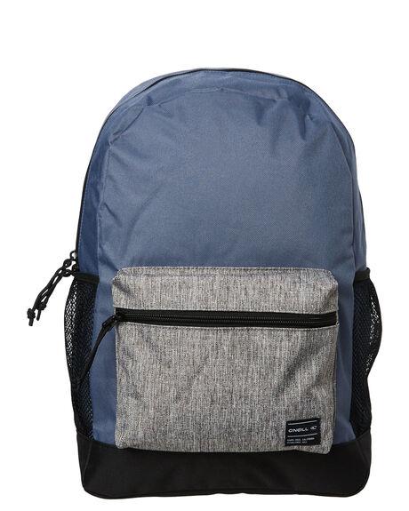 BLACK GREY BLUE MENS ACCESSORIES O'NEILL BAGS + BACKPACKS - 654009BGB