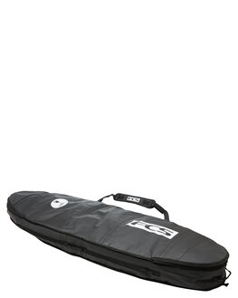 BLACK GREY BOARDSPORTS SURF FCS BOARDCOVERS - BT2-063-FB-BGYBLKGR