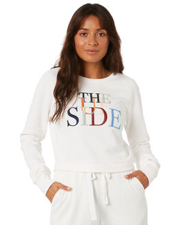 IVORY WOMENS CLOTHING THE UPSIDE ACTIVEWEAR - USW220009IVRY