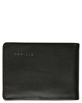 BLACK MENS ACCESSORIES THRILLS WALLETS - TA9-1016BBLK