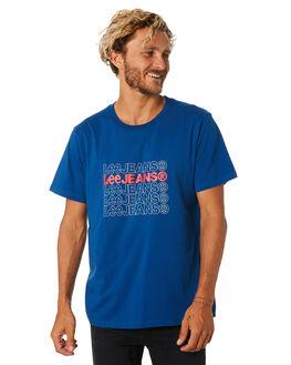 BLUE MENS CLOTHING LEE TEES - 601852406