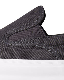 ALMOST BLACK MENS FOOTWEAR CONVERSE SLIP ONS - SS163372ABLKM