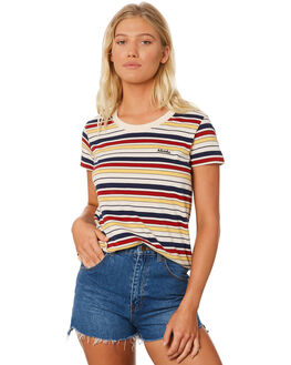 CREAM WOMENS CLOTHING AFENDS TEES - W184003CRM