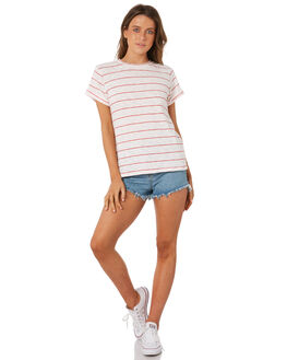 RED WOMENS CLOTHING SWELL TEES - S8184002RED