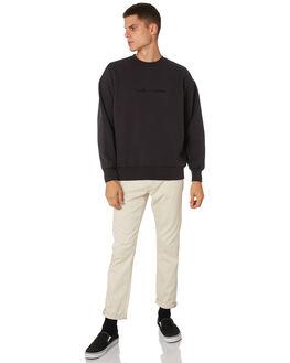 HERITAGE BLACK MENS CLOTHING THRILLS JUMPERS - TH9-214HBHRBLK
