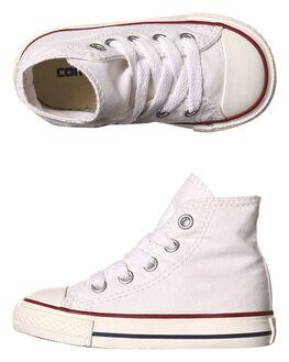 OPTICAL WHITE KIDS BOYS CONVERSE FOOTWEAR - 7J253WHT