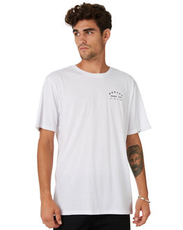 WHITE MENS CLOTHING HURLEY TEES - MTSPPERG100