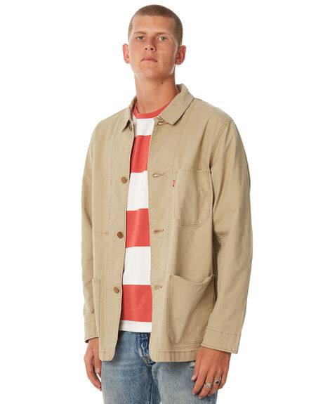 HARVEST GOLD MENS CLOTHING LEVI'S JACKETS - 29655-0007
