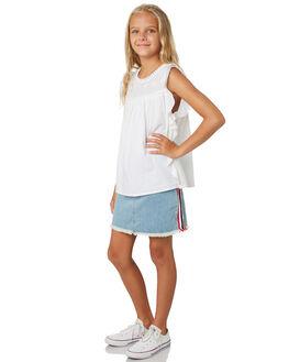 DENIM BLUE KIDS GIRLS EVES SISTER SHORTS + SKIRTS - 9530016DEN