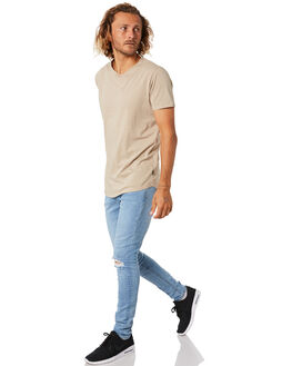 HAVANA BLUE MENS CLOTHING NENA AND PASADENA JEANS - NPMFSJ002HAVB