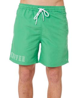 PALM GREEN MENS CLOTHING HUFFER BOARDSHORTS - HMSO10STPL-521PALGR