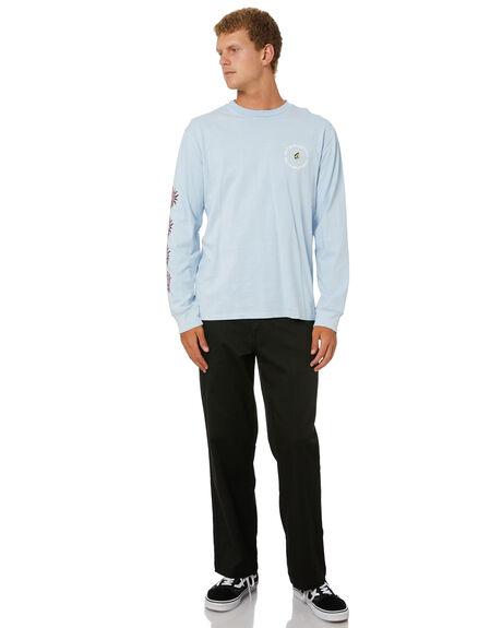 AETHER BLUE MENS CLOTHING VOLCOM TEES - A3612103AEB