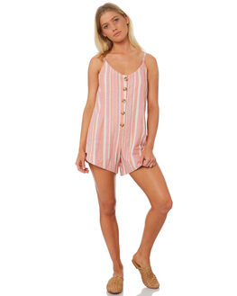 SORBET STRIPE WOMENS CLOTHING THE BARE ROAD PLAYSUITS + OVERALLS - 991151-06SORS