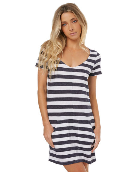 STRIPE WOMENS CLOTHING ELEMENT DRESSES - 274866ASTR