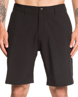BLACK MENS CLOTHING QUIKSILVER SHORTS - EQYWS03625-KVJ0
