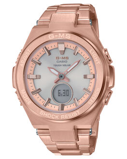 ROSE GOLD WOMENS ACCESSORIES BABY G WATCHES - MSGS200DG-4ARGLD