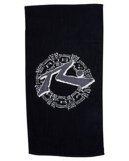 BLACK ACCESSORIES TOWELS RUSTY  - TWM0145BLK