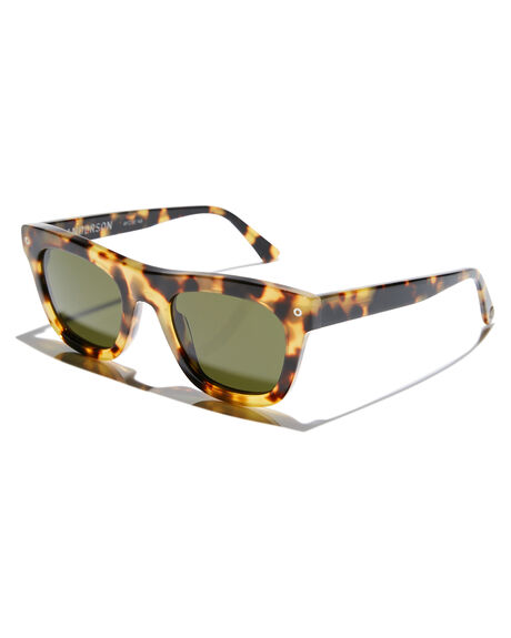GLOSS SPOTTED TORT MENS ACCESSORIES ELECTRIC SUNGLASSES - EE17561320GLTRT