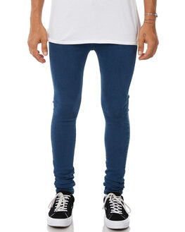 PURE DARK BLUE MENS CLOTHING DR DENIM JEANS - 1610109-E18