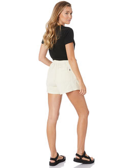 OFF WHITE WOMENS CLOTHING STUSSY SHORTS - ST193603OFWT