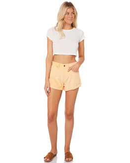 APRICOT CREAM WOMENS CLOTHING AFENDS SHORTS - W181303APR