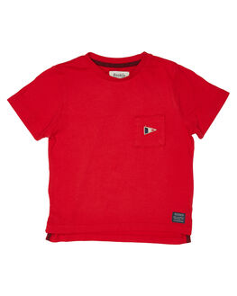 RICH RED KIDS BOYS ROOKIE BY THE ACADEMY BRAND TOPS - R19W411RRED