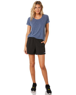 BLACK WOMENS CLOTHING PATAGONIA SHORTS - 57058BLK