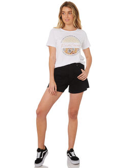 WHITE WOMENS CLOTHING RIP CURL TEES - GTEZD11000