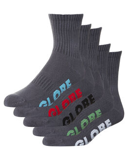 GREY MENS CLOTHING GLOBE SOCKS + UNDERWEAR - GB71029004GRY