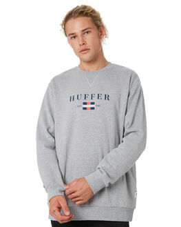 GREY MARLE MENS CLOTHING HUFFER JUMPERS - MCR91S28.222GRY