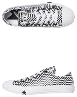 WHITE WOMENS FOOTWEAR CONVERSE SNEAKERS - 565367CWHT