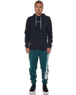 BLACK MENS CLOTHING DC SHOES JUMPERS - EDYFT03348KVJ0