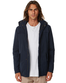 NAVY MENS CLOTHING ACADEMY BRAND JACKETS - 17W205NVY