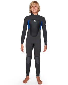 JET BLACK/NITE BLUE BOARDSPORTS SURF QUIKSILVER BOYS - EQBW103038-XKBB