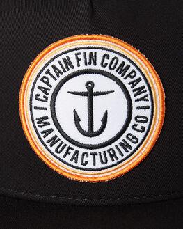 BLACK MENS ACCESSORIES CAPTAIN FIN CO. HEADWEAR - CH183013BLK