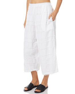 WHITE WOMENS CLOTHING ZULU AND ZEPHYR PANTS - ZZ1360WHT